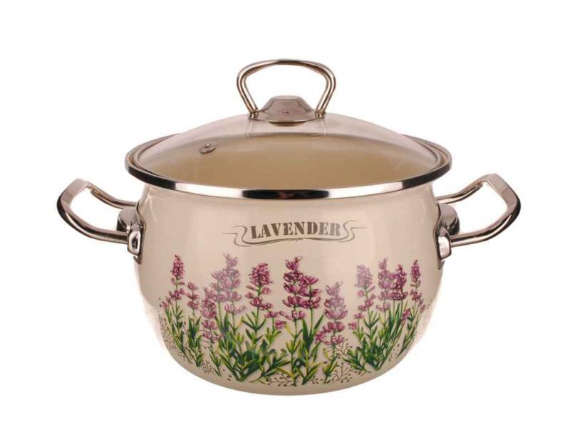 Фото Наборы посуды, Наборы эмалированной посуды Набор № 1600 Лаванда  (EPOS)