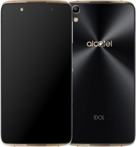 Фото  Смартфон Alcatel One Touch Idol 4 6055K Gold