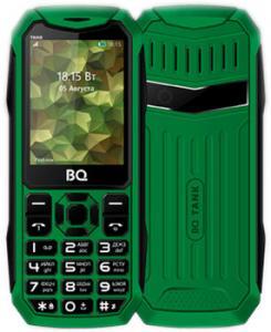Фото  Мобильный телефон BQ Mobile BQ-2428 Tank Green