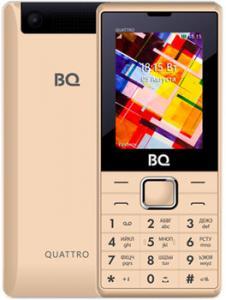 Фото  Мобильный телефон BQ Mobile BQ-2412 Quattro Gold