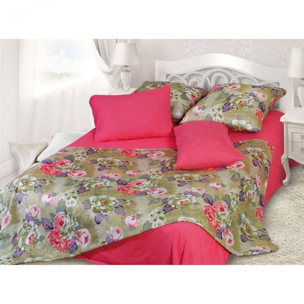 Фото Текстиль, Текстиль для спальни, Постельное бельё, Комплекты постельного белья Комплект (2 наволочки, 2 простыни) 1,5сп (092-9) 147х215 см, 70х70 - 2 шт, махровая простыня - 147х215 см