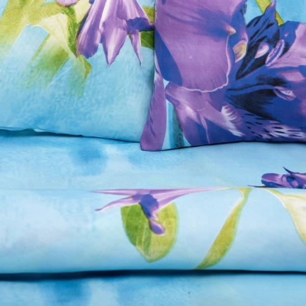 Фото Текстиль, Текстиль для спальни, Постельное бельё, Комплекты постельного белья КПБ 1,5сп Galla диз. 013, 150х220-1шт,150х220-1шт,70х70-2шт полисатин 65 г/м, пэ100%