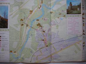 Фото Карты городов МИРА Сигулда Латвийская ССР туристическая схема 1974