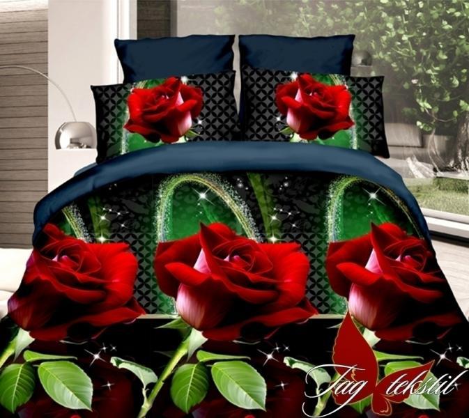 Фото ПОСТЕЛЬНОЕ БЕЛЬЕ, поликоттон 3D Комплект постельного белья XHY621