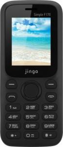 Фото Телефоны,смартфоны, Мобильные телефоны Мобильный телефон Jinga Simple F170 (черный)