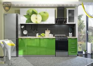 Фото  Кухня ЯБЛОКО 2,0м(ДСВ мебель)