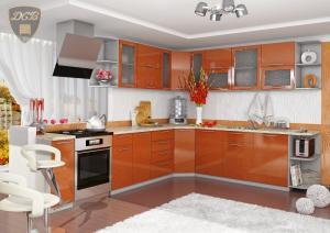 Фото  Кухня ОЛИВА - ОРАНЖ модульная(ДСВ мебель)