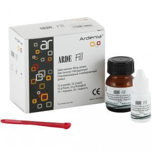 Arde Fill (АРДЕ ФИЛ ), стеклоиономерный цемент 15г база+10г  Ardenia