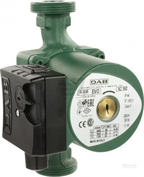 Фото Насосное оборудование, Циркуляционные насосы Циркуляционный насос керамический марки Dab  VA 35/180 (Италия) Гарантия 2 года