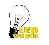 логотип LED World | Мир света