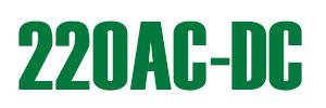 логотип 220AC-DC