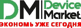 логотип Device Market (DM) гаджеты и аксессуары.