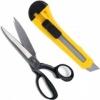 Ножницы, ножи, лезвия, резаки