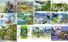 Наборы из серии почтовых марок Украины