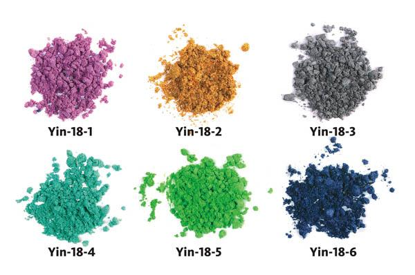 """Тени для век рассыпчатые """"Драгоценности"""" (3г) Yin-18"""