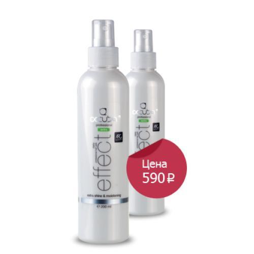 Кондиционер Effect - Несмываемый двухфазный кондиционер для придания волосам дополнительного блеска и увлажнения