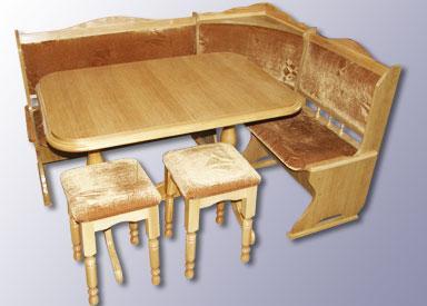 Кухонный набор деревянной мебели из массива