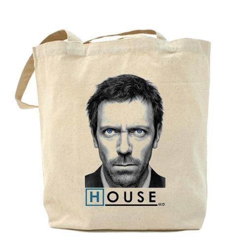 Сумка Голубоглазый Доктор Хаус (House M.D.)