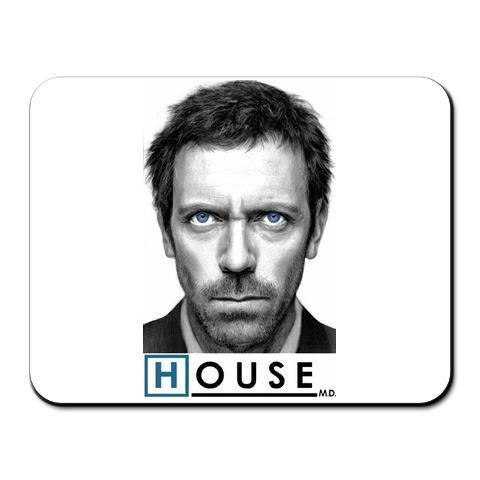 "Коврик для мышки ""Голубоглазый доктор Хаус"" (House M.D.)"