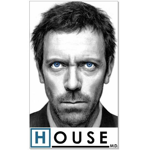 Постер Голубоглазый доктор Хаус (House M.D.)