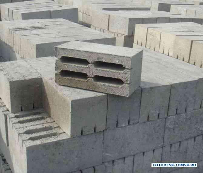 Стеновой блок 190*190*390