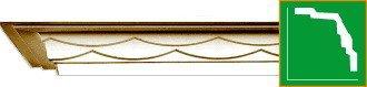 Карниз с орнаментом Gaudi Decor  C1056