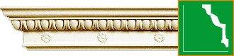 Карниз с орнаментом Gaudi Decor  C1060