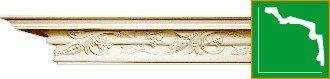 Карниз с орнаментом Gaudi Decor  C116