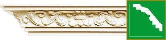 Карниз с орнаментом Gaudi Decor  C173