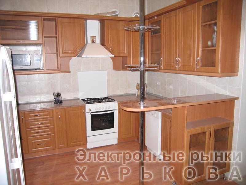 Кухня с барной стойкой - Кухонные гарнитуры на рынке Барабашова
