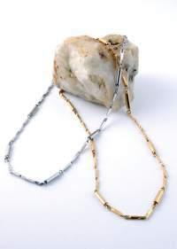 Ожерелье в серебряном тоне