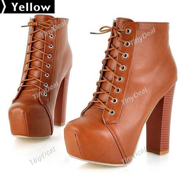 Кожаные ботинки из натуральной кожи