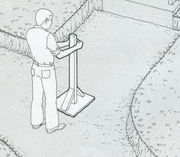 Выравнивание и уплотнение грунта