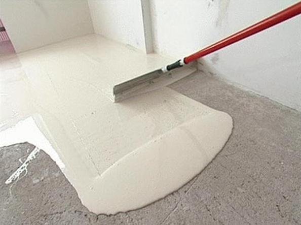 Устройство цементной стяжки (до 6 см)