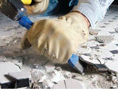 Демонтаж стен из ацеида, гипсолита, ГКЛ