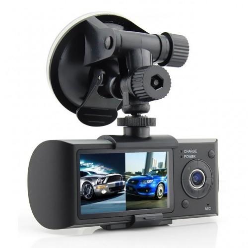 Видеорегистратор с GPS на 2 камеры X3000
