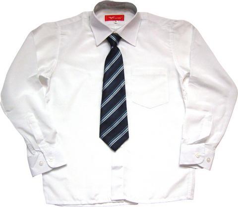 Белая рубашка детская