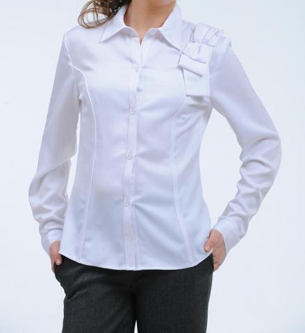 Блузка для девочки цвета ванили