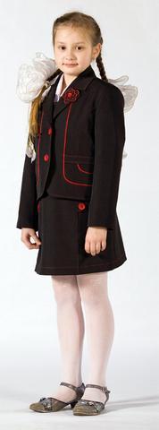 Детский школьный костюм с сарафаном