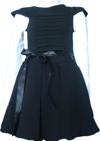 Сарафан в складку, юбка-балон