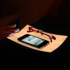 Светодиодная подставка для телефона
