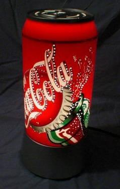 Ночник светильник Банка Coca Cola