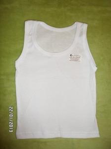 Фото Одежда для новорожденных Майка белая