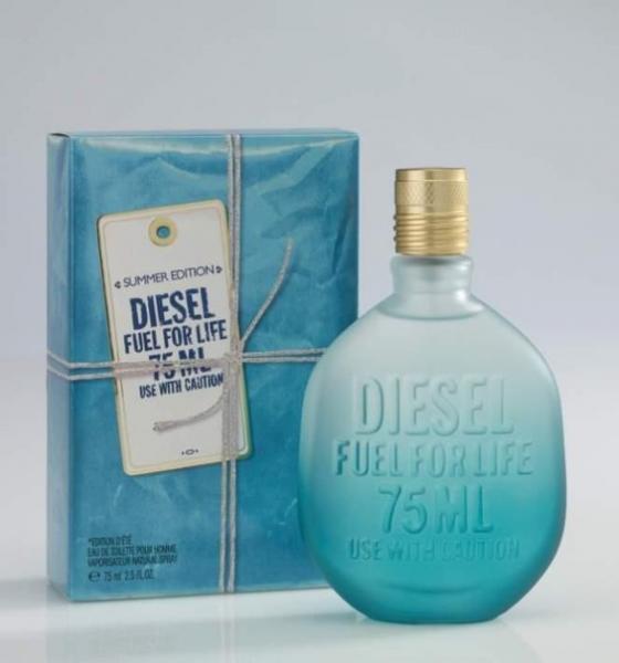Fuel For Life He Summer Diesel  Men 75ml