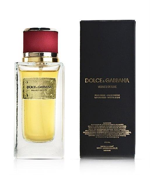 Dolce & Gabbana Velvet Desire Унисекс 100 ml