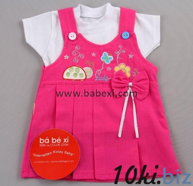 Сарафан для девочки + футболка. 6,9 месяцев. Код 56956. Сарафаны детские для девочек в Запорожье