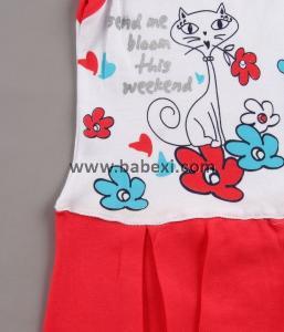 Фото BABEXI, Одежда для новорожденных Сарафан для девочки с плиссированной юбкой. 3,6,9месяцев. Код 57481