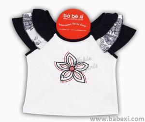 Фото BABEXI, Одежда для девочек, Футболки, туники, кофты Футболка 4,6,8 лет. Код 55487