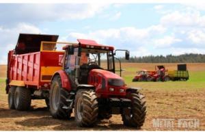 Фото Сельскохозяйственная техника   METAL-FACH, Разбрасыватели удобрений N 272/2 - 14Т