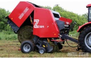 Фото Сельскохозяйственная техника   METAL-FACH, Пресс подборщики Z589/3 со сменными камерами.